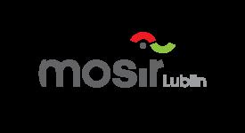 Logo MOSiR w Lublinie - pe+éna wersja kolorystyczna
